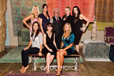 (standing) Julie Lander, Melissa Whelchel, Richard Picher, Nancy Dockerty, Angela Gruszka, (sitting) Jamie Rosemurgy, Daphne Nikolopoulos, Jennifer Rosemurgy