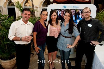 Chris Cruz, Angelica Howe, Clair Kelly, Maria Howe of Photo Mingle