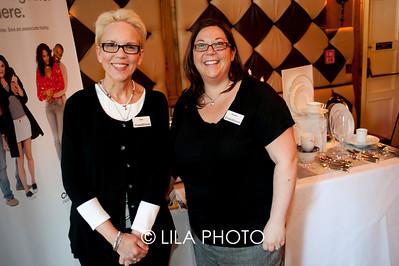 Sara Mclennand, Heather Siegel of Crate & Barrel
