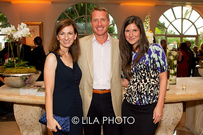 Daphne Nikolopoulos, Colin Clark, General Manager of The Four Seasons, Laurie Zuckerman