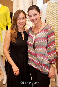 Arlena Pordoy of Ann Taylor, Dana Romanelli of Gardens Mall