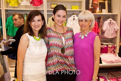 Daphne Nikolopoulos, Dana Romanelli of Gardens Mall, Allison Reckson