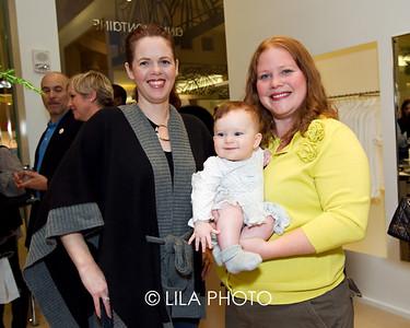 Lydia Davis, Baby Zoey, Sandy Sanges