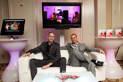 Slim and Ross Bielejeski of Rock With U Entertainment
