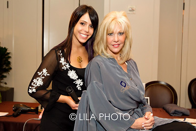 Sam Podolnick and mother, Stacey Podolnick with O Salon