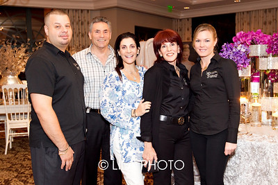 Pete Karageorgos, Ed Gilbert, Jennifer Cohen, Nancy GIlbert, and Emmy Thornbrough of Xquisite Events