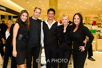 Jelena Markovic, Walter Tucci, John Hernandez, Pauline Bolton, Crystal Ramirez: Beauty Team for Bobbi Brown