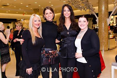 Melissa Marchione, Adriana Somberg, Chantelle Vachon, Jennifer Landes