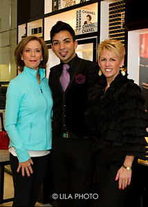 Marilyn Opas, Chalid Odeh, Pauline Bolton: Selling Manager Cosmetics and Fragrance for Saks