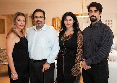 Peggy & Dennis Rainho, Effy & Nicholas Dimitriadis