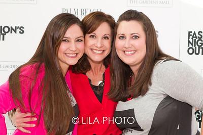 Dana Romanelli, Michele Jacobs, Whitney Pettis