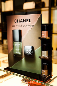Chanel - Signature Khaki Colors exclusive for Fashion's Night Out event; photography by: Lauren Lieberman / LILA PHOTO