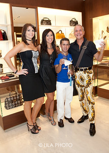Ferragamo: Crystal Coulson, Ana Santos, Henry Salinas, Carlos Arencibia  (sp); photography by: Lauren Lieberman / LILA PHOTO