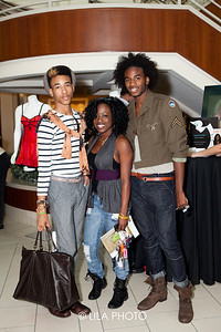 Demetrius Mickens, Shinobia Wright, Quentin Tommie; photography by: Lauren Lieberman / LILA PHOTO