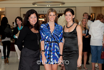 Karen Grosser (The Gardens Mall / Forbes Company) , Katherine Lande, Sonya Haffey (V-Star); photography by: Lauren Lieberman / LILA PHOTO