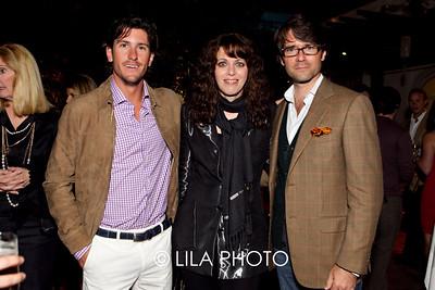 Nic Roldan, Lauren and Terry Duffy
