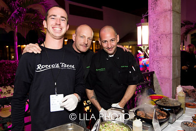 Will Wedge, Monte Schrier, Danny Massa for Rocco's Tacos