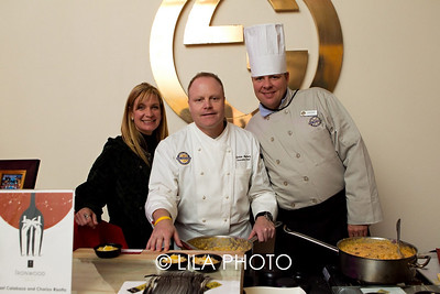 Karla Bass for Iron Wood Grill, Gordon Maybury, Jonathan Graver  with PGA National Resort and Spa