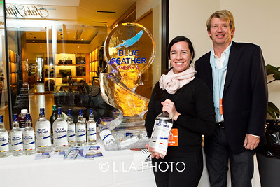 Angela Julien, Hans Wiggemans for Blue Feather Vodka