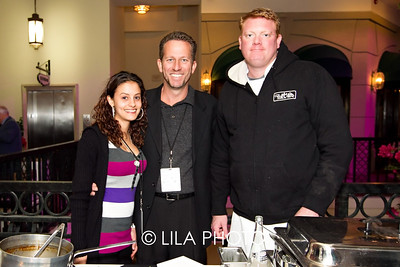 Ashley Russell, Iggy, David Hagan with City Cellar