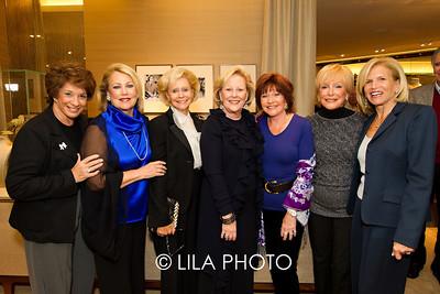 Gail Halpern, Denise Siegel, Margie Kernan, Maddie Forbes, Evie Taback, Carolyn Schain, and Barbara Sidel.