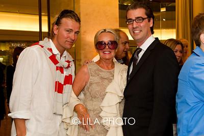 Daniel, Annetta Aalberts, and Craig Dickmann