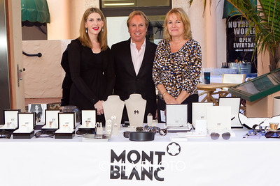 Cindy Grossman, Alfred Padova, Mary King - Pruitt with Mont Blanc