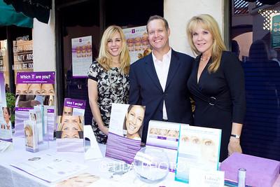 Beth Anderson, Chris Loeber, Kim Kemp with Allergan