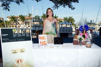 Trisa Anderson with The Secret Garden at Singer Island Resort