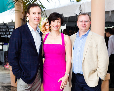 Dr. Brian Hass, Dr. Andrea Hass, Todd Schmidt