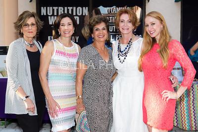 Nancy Thornton, Andrea Hass, Lillian Bentley, Jill Wilkinson, Julia Long