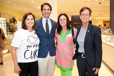 Martha Gillespie, Dr. Anthony Addesa, Lynn Stockford, Terri Wentz