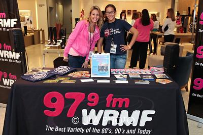 Laura Gardiner, Mackenzie Shau with WRMF