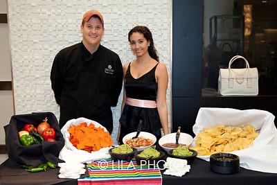 Michael WIll, Alexandra Safran with Cantina Laredo