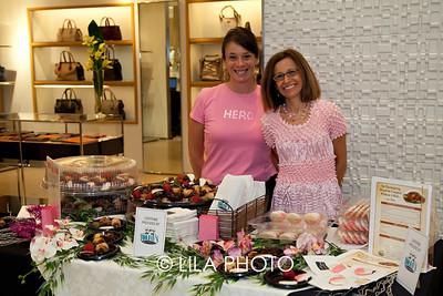 Elizabeth Dias, Donna Goldfarb with TooJays