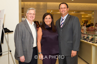 Dr. David Lickstein, Mindy Curtis Horvitz, John Couris