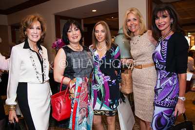 Ellen Schweber, Esther Gordon, Penny Novick, Carolyn Koslow, Harriett Grandoff