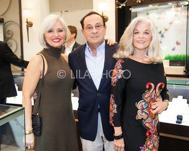 Lana Arnold, Sam Gottlieb, Linda Marchese