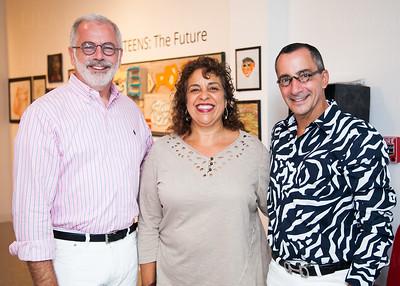 Stephen Mooney, Doreen ALfaro, Scott Velozo