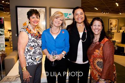 Cynthia Sandler, Susan Wolfe, May Spence, Karen Chiappa