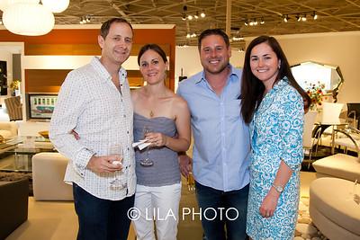 Lonnie & Jennifer Schwimmer, Erik & Kimberly Read