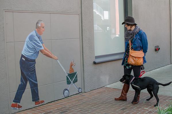 Greg Brown Mural, Palo Alto