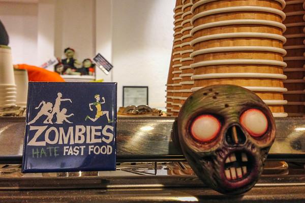 Zombie Runner Cafe - Palo Alto