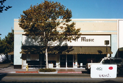 Swain's House of Music 1985; 451 University Ave