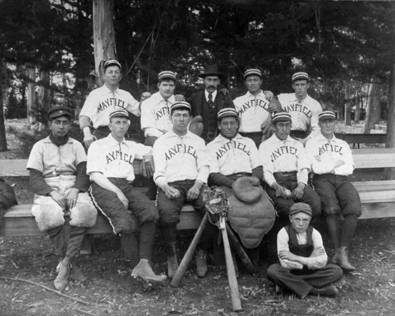 Mayfield Baseball Team, 1898