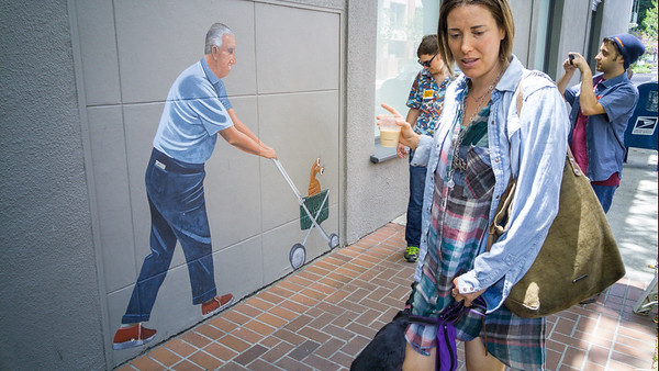 Quirky artwork by Palo Alto artist, Greg Brown