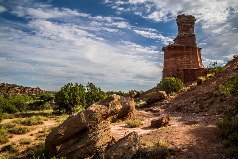 Behind the Lighthouse, Palo Duro Canyon