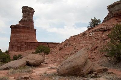 Lighthouse from the Lighthouse trail, Palo Duro Canyon