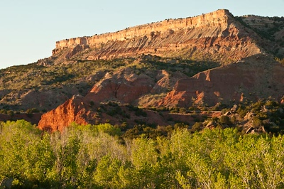 Fortress Palo Duro Canyon, sunset