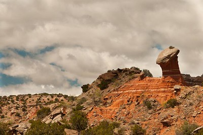 Given's trail, Palo Duro Canyon
